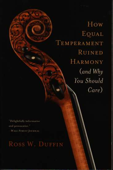 photo of How Equal Temperament Ruined Harmony (and Why You Should Care) paperback
