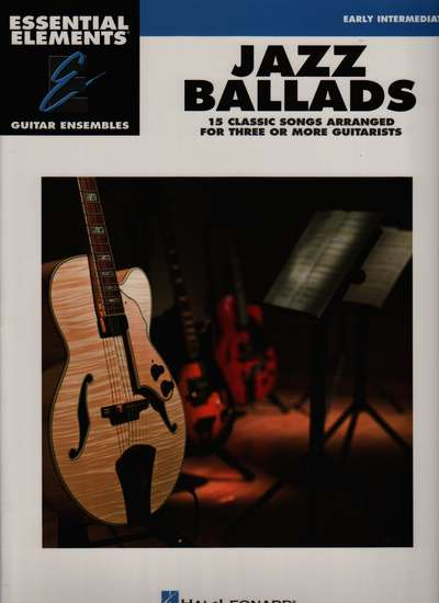 photo of Jazz Ballads, 15 Pieces, Essential Elements Guitar Ensembles