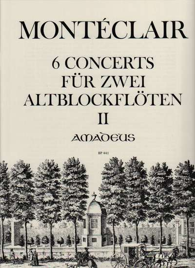 photo of 6 Concerts for two Alto Recorders without bass, Vol. II, 4-6