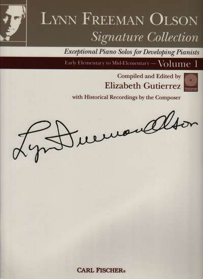 photo of Signature Collection, Piano Solos Vol. 1, Early Elementary to Mid Elementary, CD