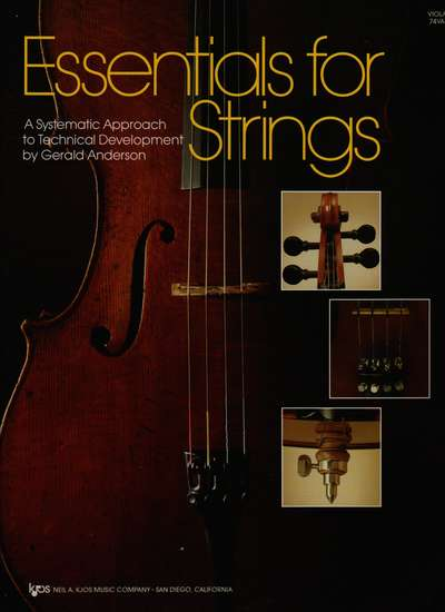 photo of Essentials for Strings, Viola