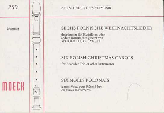 photo of Six Polish Christmas Carols