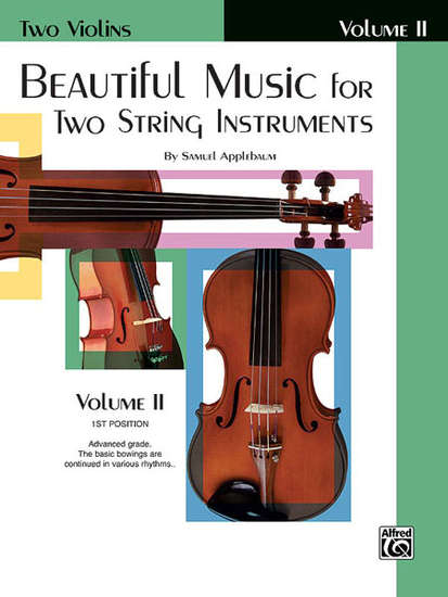 photo of Beautiful Music for Two String Instruments, Vol. II Violins