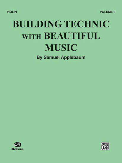 photo of Building Technic with Beautiful Music, Vol. II, Violin