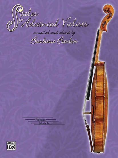 photo of Scales for  Advanced Violists