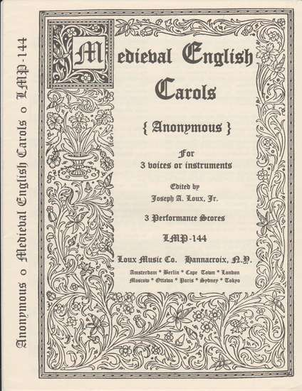 photo of Medieval English Carols