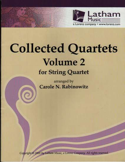 photo of Collected Quartets, Volume 2