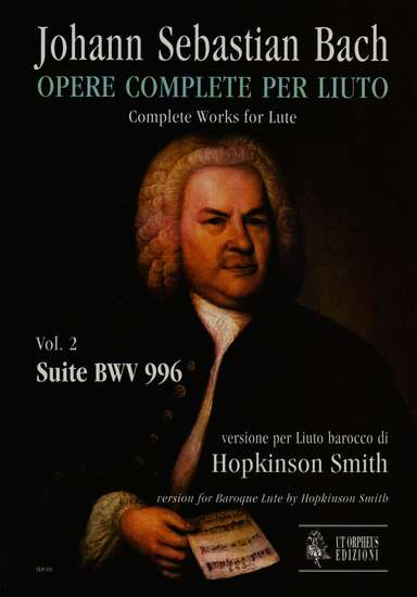 photo of Complete Works for Lute, Vol. 2, Suite BWV 996, for Baroque Lute