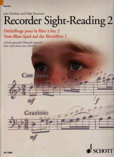 photo of Recorder Sight-Reading 2