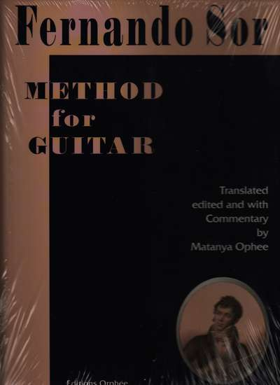 photo of Method for Guitar Translated, edited and with Commentary by Ophee