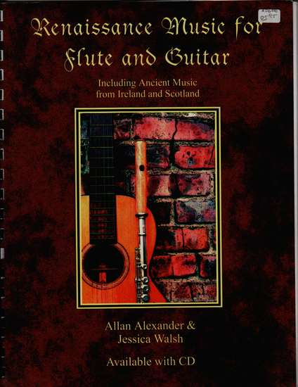 photo of Renaissance Music for Flute and Guitar with CD
