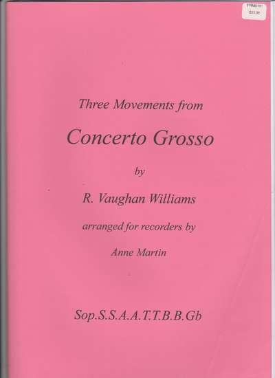 photo of Three Movements from Concerto Grosso