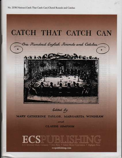 photo of Catch that Catch Can, 100 English Rounds and Catches