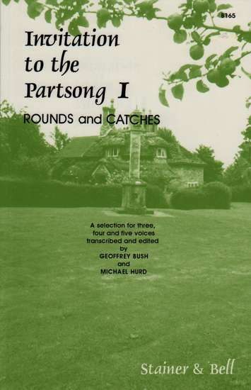 photo of Invitation to the Partsong I, Rounds and Catches