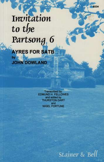 photo of Invitation to the Partsong 6, Ayres for satb by Dowland