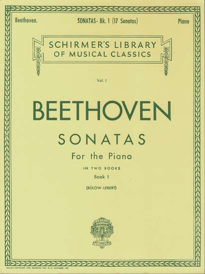 photo of Sonatas for the Piano in two Books, Book 1, Nos. 1-17