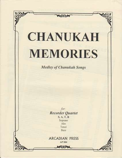 photo of Chanukah Memories, Medley of Chanukah Songs