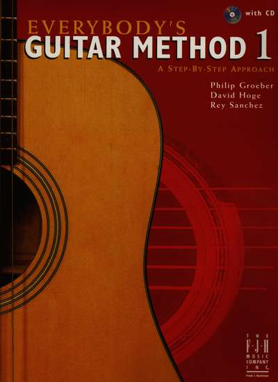 photo of Everybodys Guitar Method 1, a Step-by-Step Approach with CD