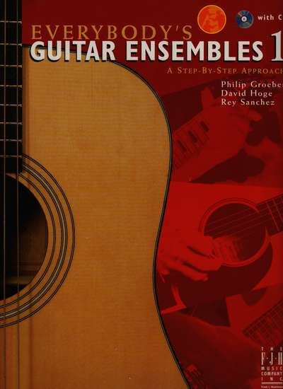 photo of Everybodys Guitar Ensembles 1, with CD