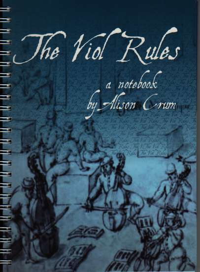 photo of The Viol Rules, a notebook