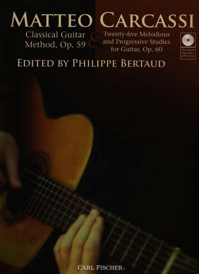 photo of Classical Guitar Method, Op. 59 & 25 Melodious and Progressive Studies, Op. 60