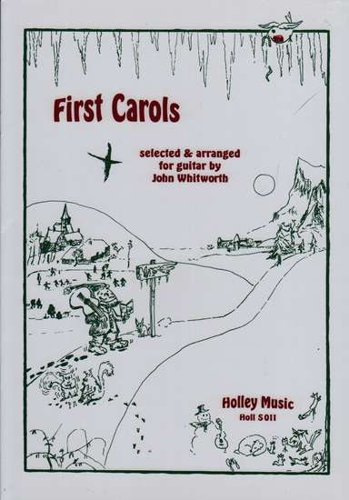 photo of First Carols selected and arranged for Guitar