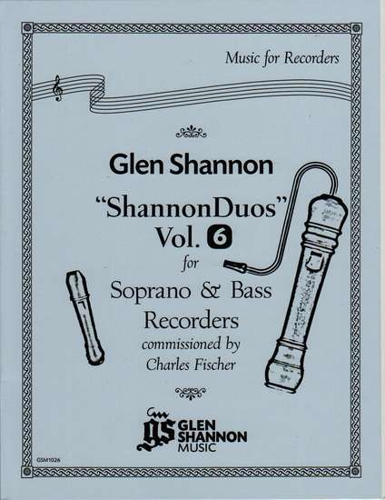 photo of Shannon Duets, Vol. 6 for Soprano & Bass