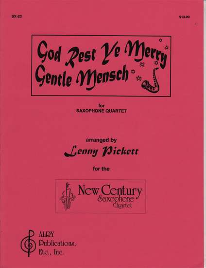 photo of God Rest Ye Merry Gentle Mensch, Saxophone Quartet