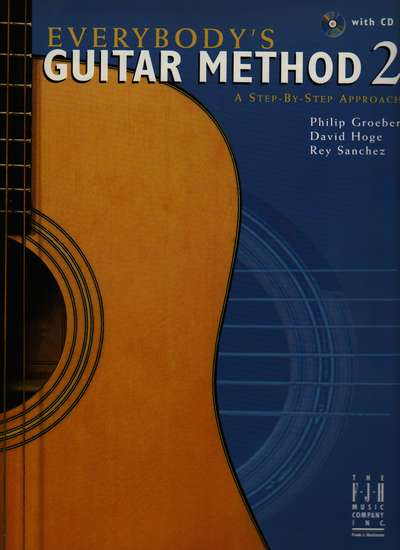 photo of Everybodys Guitar Method 2, a Step-by-Step Approach with CD