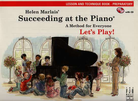photo of Succeeding at the Piano, Lesson and Technique Book, Preparatory,  CD