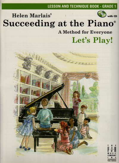 photo of Succeeding at the Piano, Lesson and Technique Book, Grade 1,  CD
