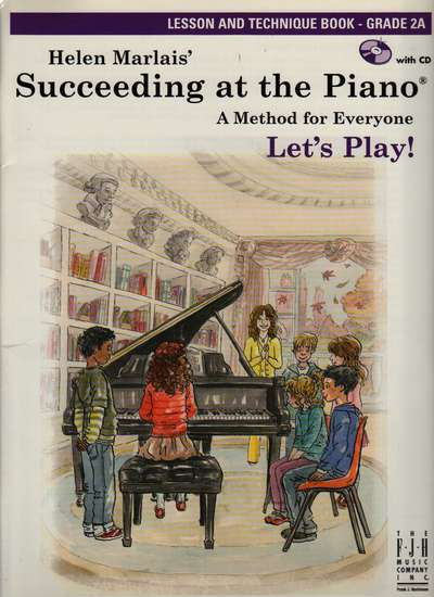 photo of Succeeding at the Piano, Lesson and Technique Book, Grade 2A,  CD