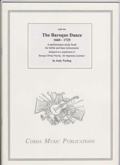 photo of The Baroque Dance 1660-1725, A performance study book for treble and bass