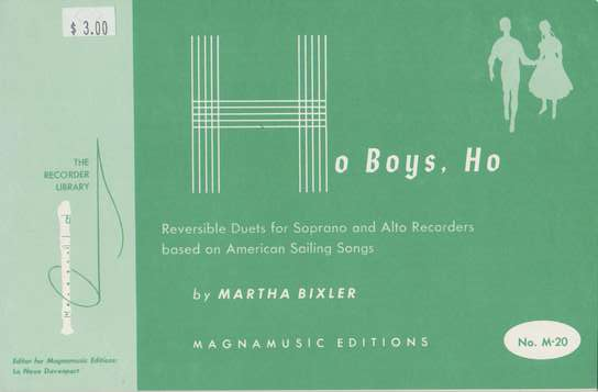 photo of Ho Boys, Ho, Duets based on American Sailing Songs
