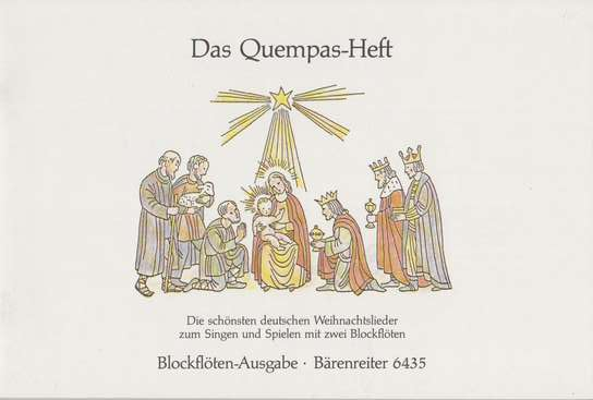 photo of Das Quempas-Heft, 41 German Christmas settings for 2 voices or instruments