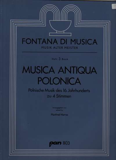 photo of Music Antiqua Polonica, Polish Music of the 1600s
