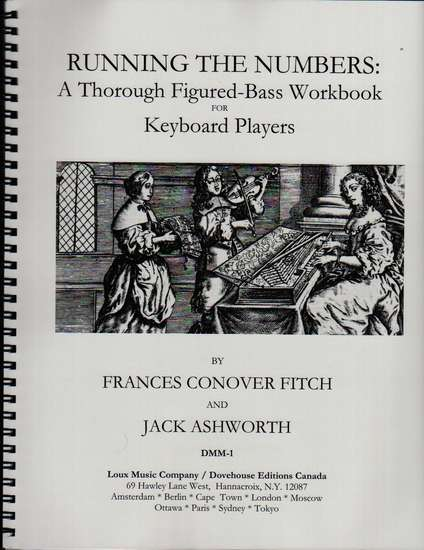 photo of Running the Numbers: A Thorough Figured-Bass Workbook for Keyboard