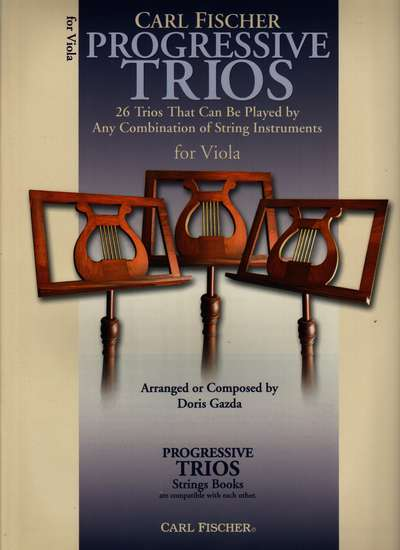 photo of Progressive Trios for Viola, 26 Trios for any combination