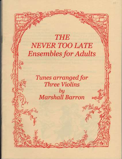 photo of The Never Too Late Ensembles for Adults