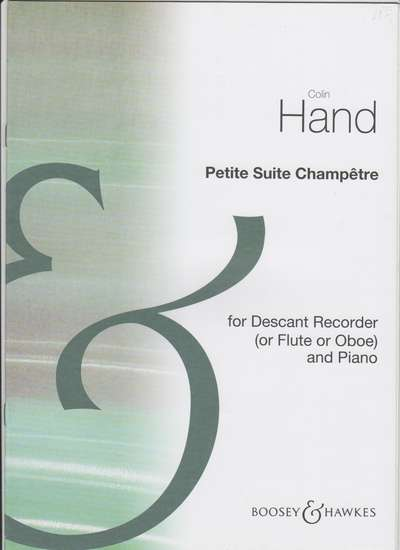 photo of Petite Suite Champetre for soprano recorder and piano