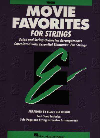 photo of Movie Favorites for Strings, Violin Part