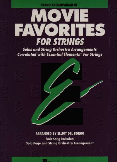 photo of Movie Favorites for Strings, Piano Accompaniment