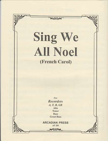 photo of Sing We All Noel (French Carol)