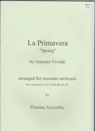 photo of La Primavera from the Seasons