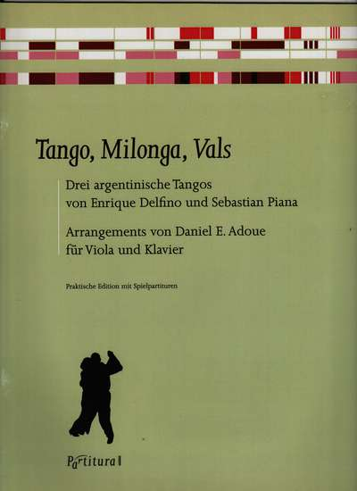 photo of Tango, Milonga, Vals, Three Argentinian Tangos by Delfino and Piana