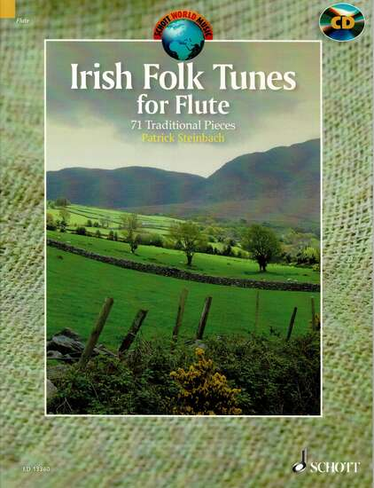 photo of Irish Folk Tunes for Flute, 71 Traditional Pieces, CD