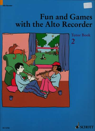 photo of Fun and Games with the Alto Recorder, Tutor Book 2