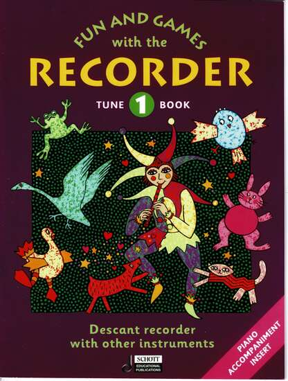 photo of Fun and Games with the Recorder, Tune Book 1, with Acc.