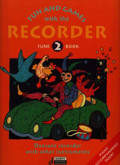 photo of Fun and Games with the Recorder, Tune Book 2, with Acc.