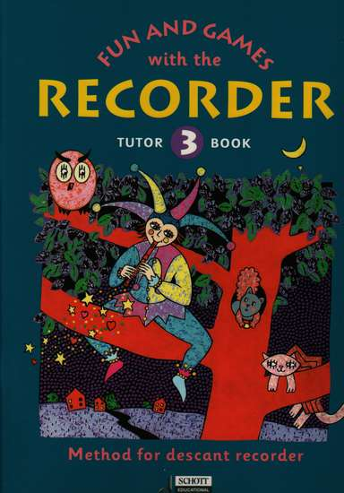 photo of Fun and Games with the Recorder, Tutor Book 3, for Soprano